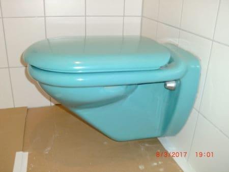 "WC-Ausstattung Villeroy & Boch ""MAGNUM, Farbe Calypso"