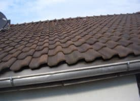 Dachziegel Doppelfalz Flachdachziegel Schamott
