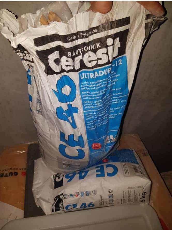 Ceresit BT CE 46 Ultradur 2-12, Spezialfugenmörtel, zementgrau, 15kg
