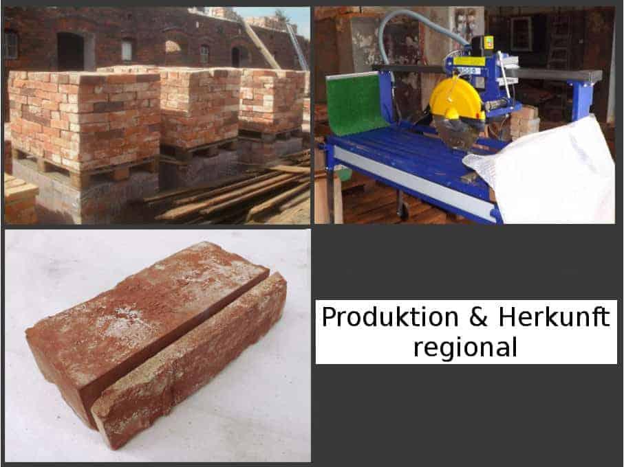 Klassisch rote Antike Riemchen Klinkerriemchen Steinriemchen Rückbau Mauerstein ökologische klimaneutral Wandgestaltung Wandpanele rustikal