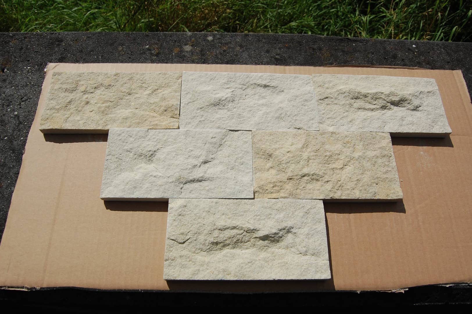 DORA Verblender Riemchen Klinker Sandstein Naturstein