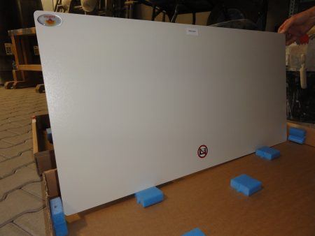 eco2heat Infrarot Heizspiegel mit Sicherheitsglas Neu