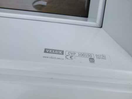 "Velux elektr. Flachdachfenster ""Flach-Glas"" 100 x 150 cm"