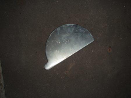 Zink Dachrinnenhaken geboge f. 333er Dachrinnen, 15cm Durchmesser