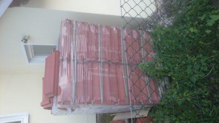Dachziegel Braas naturrot (260 Stück)