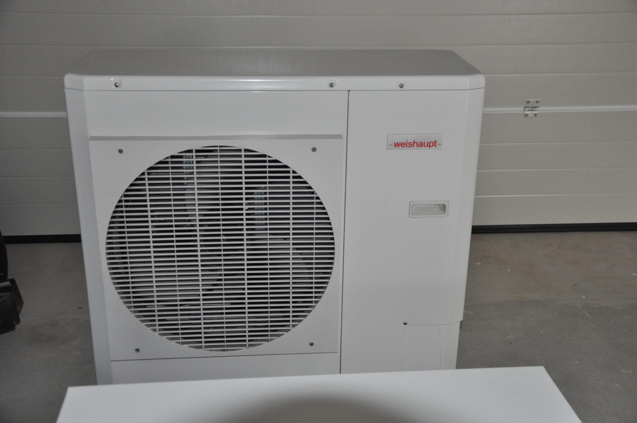 Weishaupt Split-Wärmepumpen Komplettanlage