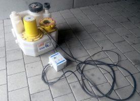 Überflutbare Fäkalienhebeanlage KSB Mini-Compacta