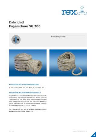 Fugenschnur SG300, 20 Meter Rolle