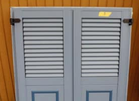 INTERNORM Genial, Holz aluminium Fichte/Taubenblau