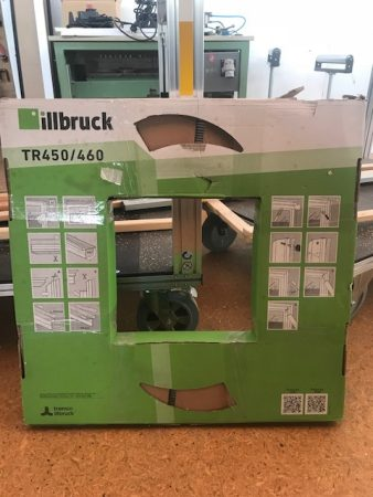 Illbruck – Fenster-Rollleiste Innen und/oder Aussen mit Schraubkanal bis 15mm Fugenbreite