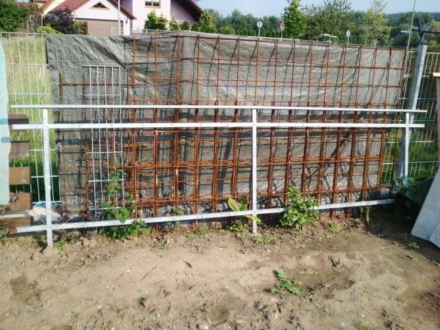 Geländer / Eisengestell (Vierkant) verzinkt für Balkongeländer, wie abgebildet handelt es sich nur um das Gestell