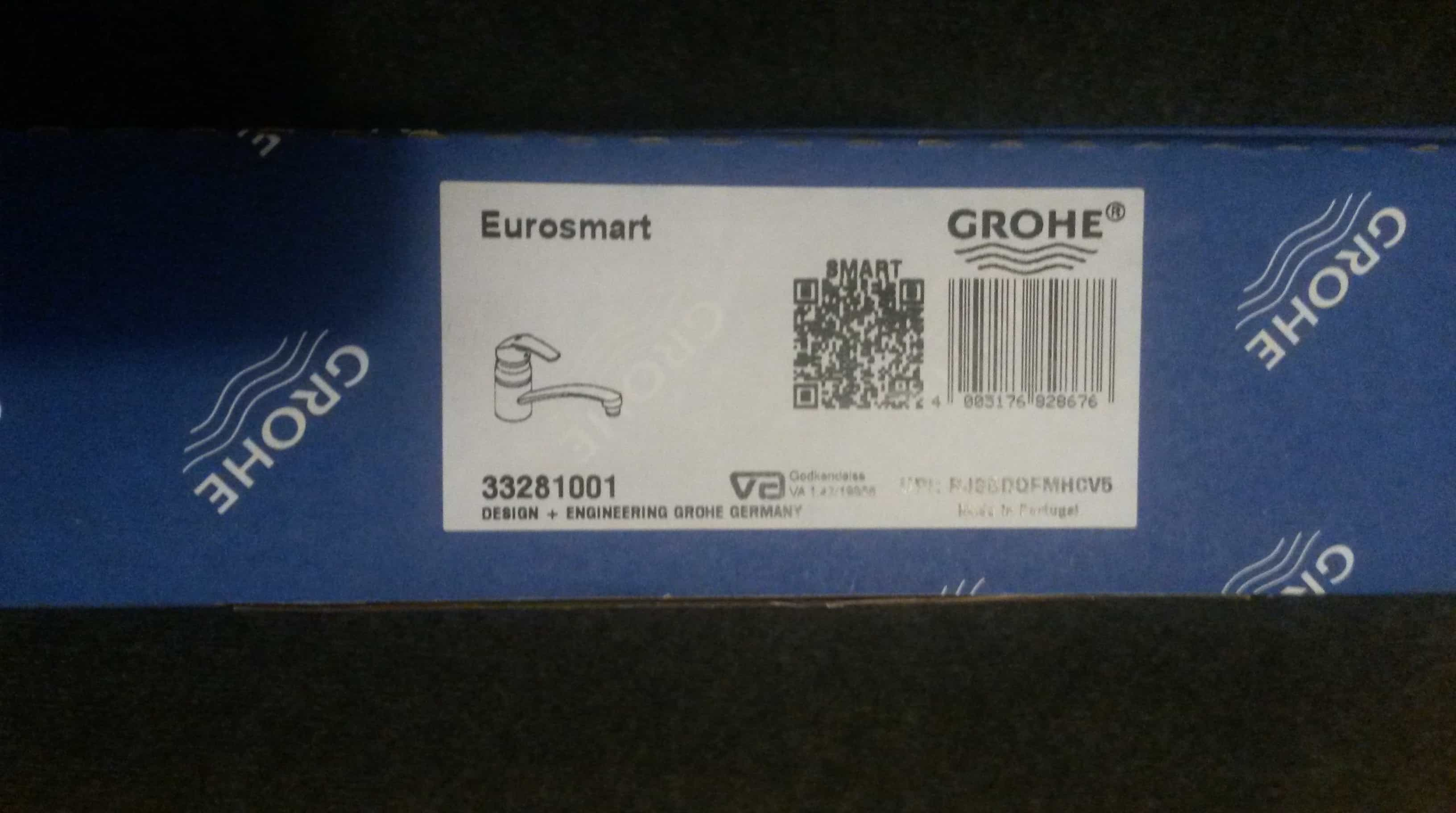 Grohe Eurosmart Spüle Einhebelmischbatterie Neu