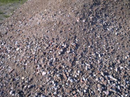 Bauschutt-Recyclingmaterial 0/45