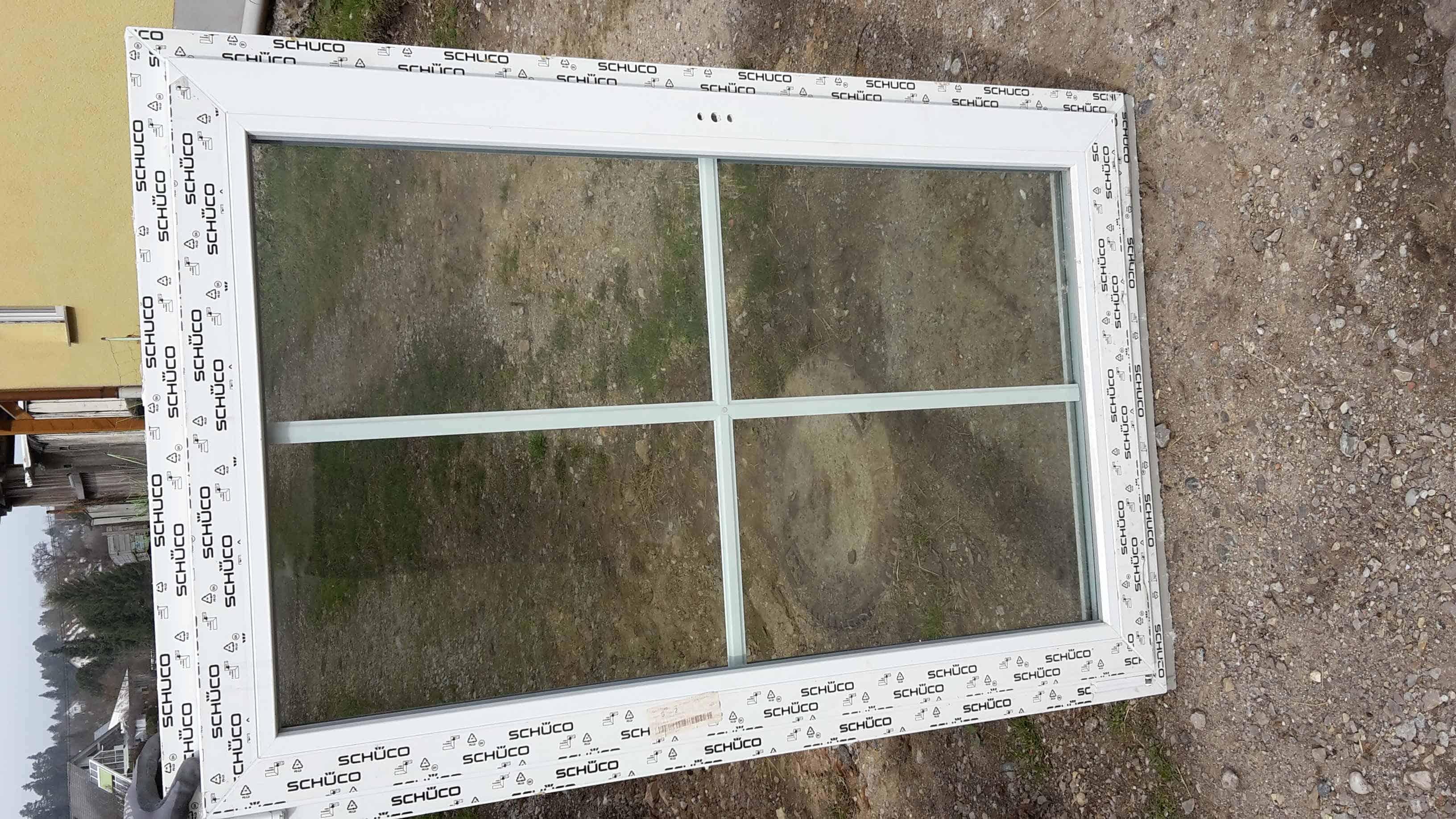 Fenster mit Sproßen 3-fach Verglasung günstig kaufen im ...