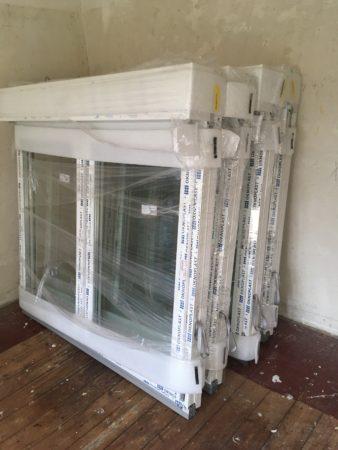 19 neue Kunststofffenster, 3-fach verglast, nur als Paket – GESAMTPREIS 4.200 € VB