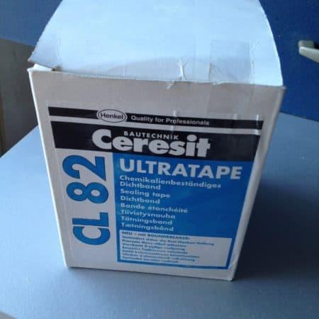 Gesamtpaket Cerasit CL 51 Dichtfolie K1 und Cerasit CL 82 Ultratape Dichtband