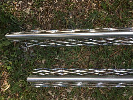 Zwei Innenputz-Eckprofile von Knauf