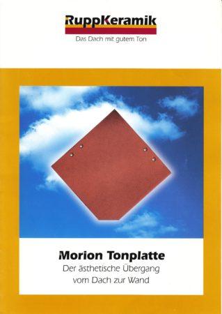 Ton Schindeln Rupp Keramik Morion