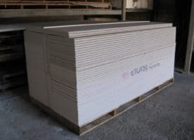 Gipskartonplatten GKF – 12,5mm dick – 2500 x 500 x 12,5mm