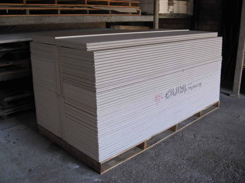 Gipskartonplatten GKF - 12,5mm dick - 2500 x 500 x 12,5mm