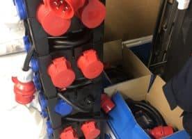 PCE 9030004 Kunststoff-Mobilverteiler