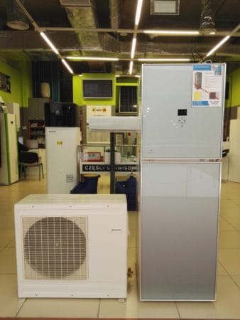 Ahlsell 8kW Wärmepumpe, 150L C.W.U