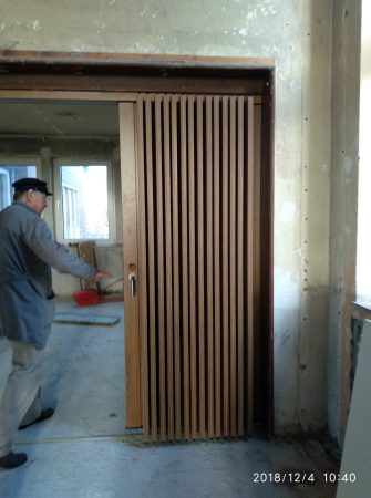 Falttür – ausziehbare Faltwand – SPF 50