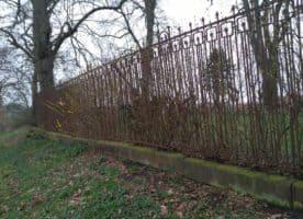 Antiker Zaun 24m lang ,Höhe 1,8m,  100 Jahre alt