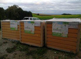 Steico Protect Dry Holzfaserdämmplatten Putzträger 160 mm