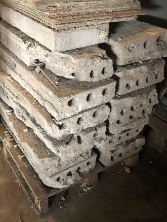 Armierte Betonplatten 35x150x10 cm