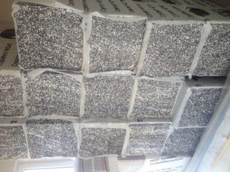 WDVS Fassadendämmplatten 160mm der Firma Caparol