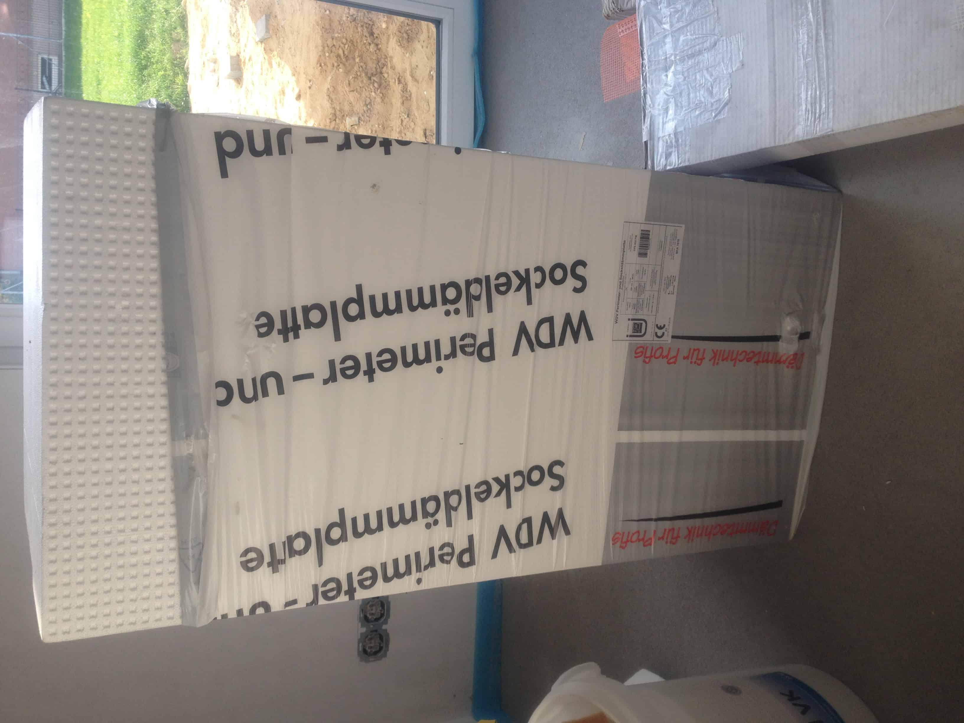 Wdvs fassadend mmplatten 160mm der firma caparol g nstig for Gartengestaltung 30qm