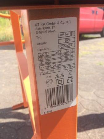 Betonmischer ATICABM140S neu & unbenutzt
