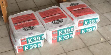 Ardex K39 Ausgleichsmasse