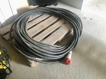 60m Baustromkabel (Gummischlauchleitung (schwer) H 07 RN-F 5G10)