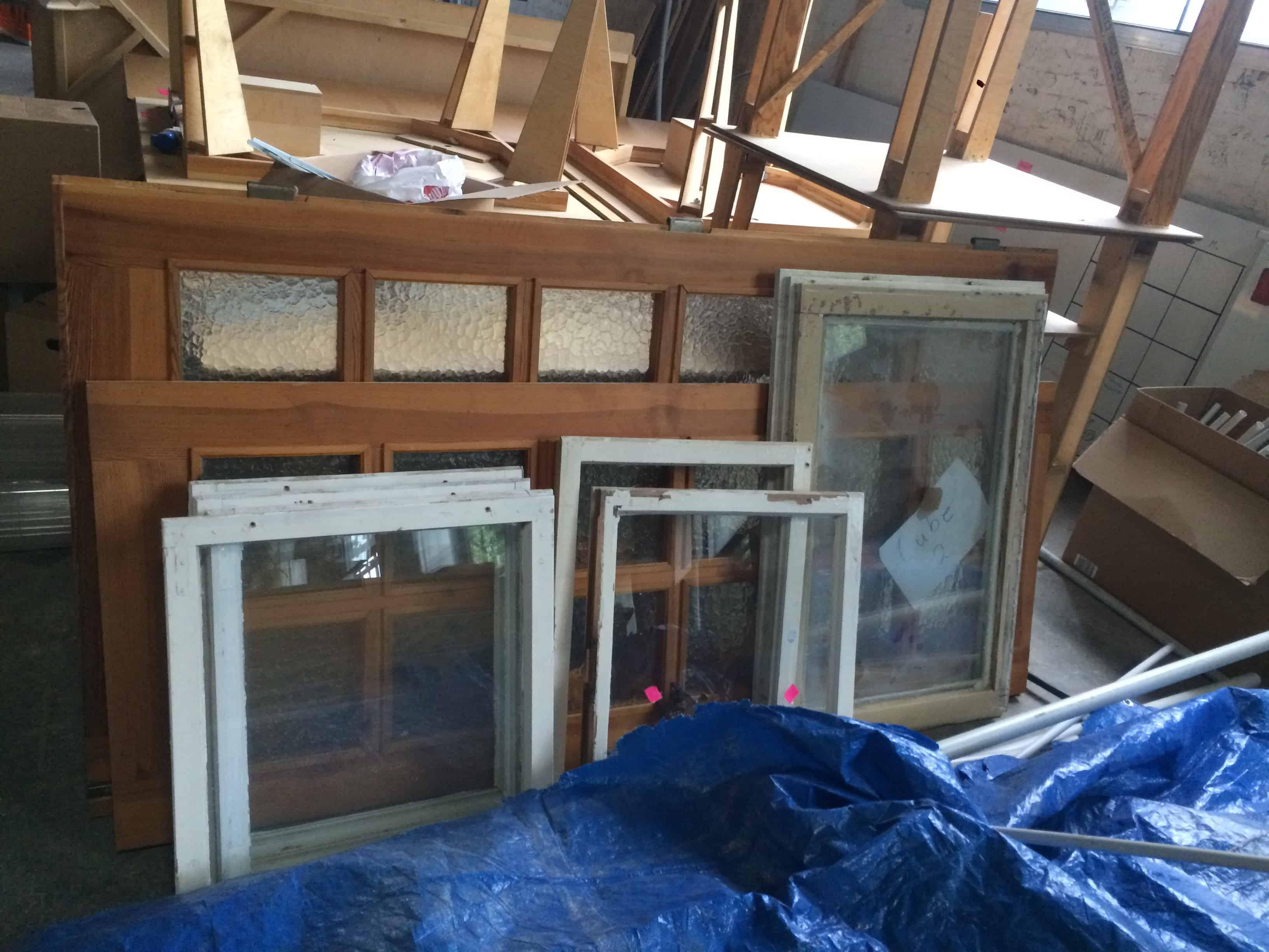 Fensterflügel (Ohne Blendrahmen) - ca. 50 x 60 cm