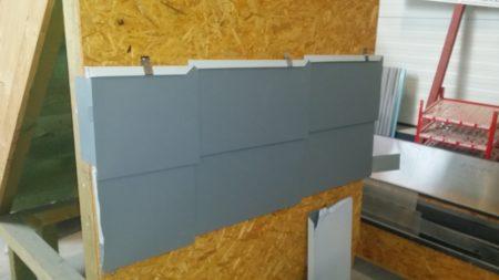 Aluminium Rechteck-Systemschindeln Firma Boehme Systems