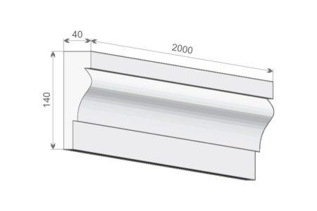 Fassadenprofil LE-27