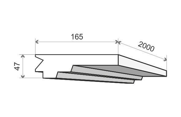 lichtleiste decke led lo 15 g nstig kaufen im baustoffhandel von restado gebraucht und neu. Black Bedroom Furniture Sets. Home Design Ideas