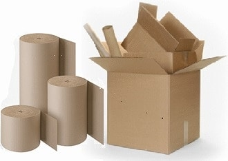 Kartons 45cm x 45cm x 29cm, Qualität zweiwellig- 2.40BC