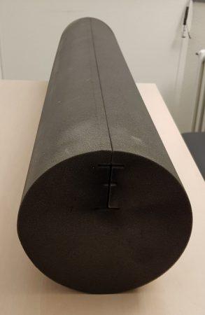 Rundabsorber aus Akustikschaumstoff Anthrazit Durchmesser 230 mm