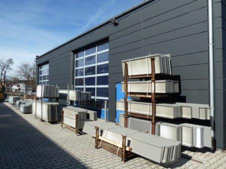 Wand – und Fassadenelemente Domico Planum Stahl verzink 1,25 mm für Innen u. Außen