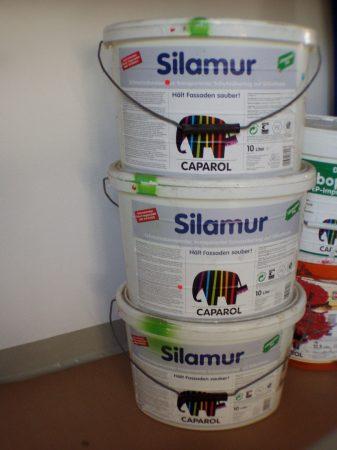 Caparol Silamur, farbloser Fassadenschutz auf Silikatbasis