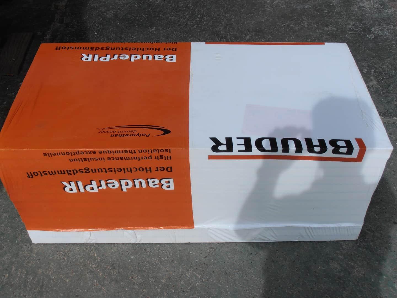 Bauder Flachdachdämmung BauderPIR FA TE 40 mm , WLS024