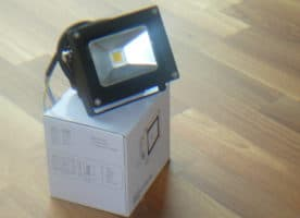 LED Fluter Flutlicht 10W, Warmweiss, 900 lumen, IP65