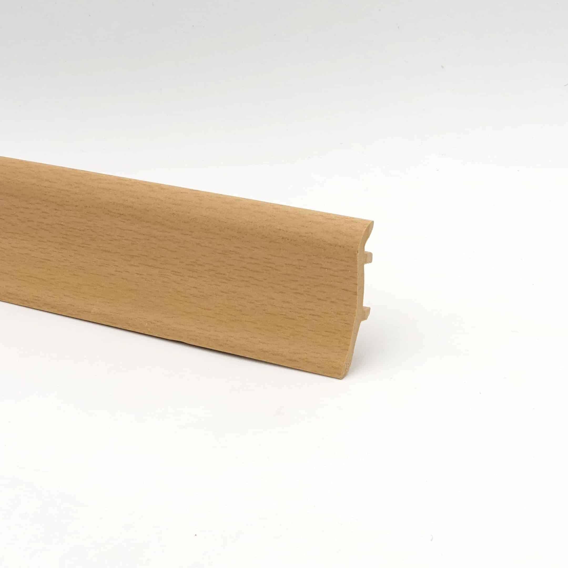 Sockelleiste - Hartschaumleiste in 2,5m Länge