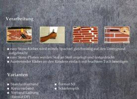 easy Stone Wand- und Fassadenplatten