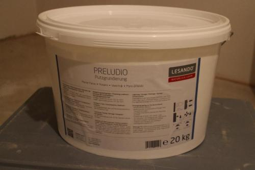 Preludio Grundanstrich für Regips/Beton - Putzgrundierung Bio
