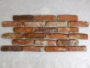 Antikriemchen Ziegelsteine Mauerziegel Feldbrand Art Backsteine retro Verblender Fliese Loft Fabrik