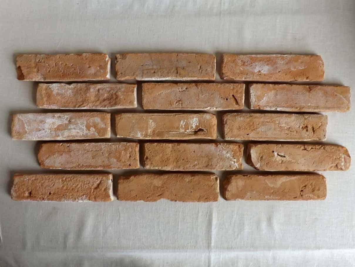 Klassisch rote Ziegel Verblendsteine Klinkerriemchen original Mauerziegel Backstein rustikal Loftoptik Steinwand Wandverkleidung Wandpaneele Ziegelwand Fliesen